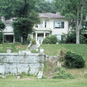 Front view, Chanteloup, Flat Rock, Henderson County, North Carolina