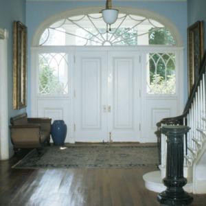 Interior view, Chanteloup, Flat Rock, Henderson County, North Carolina