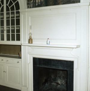 Fireplace, Chanteloup, Flat Rock, Henderson County, North Carolina