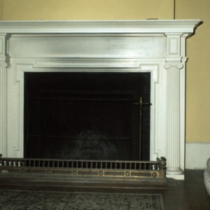 Fireplace, Chanteloup, Flat Rock, Henderson County, North Carolina