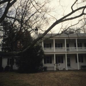 View, Blackberry Hill (Mills House), Polk County, North Carolina