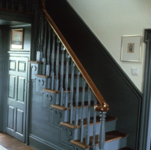 Stairs, Harper House, Randolph County, North Carolina