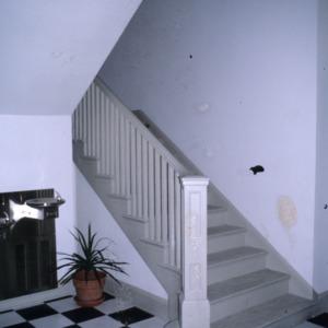 Stairs, Baker Sanatorium, Lumberton, Robeson County, North Carolina
