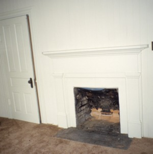 Fireplace, McLean-Singleton House, Red Springs, Robeson County, North Carolina
