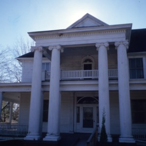 Front view, McLean-Singleton House, Red Springs, Robeson County, North Carolina