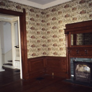 Interior view, McLean-Singleton House, Red Springs, Robeson County, North Carolina