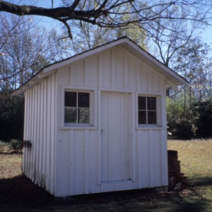 Outbuilding, McLean-Singleton House, Red Springs, Robeson County, North Carolina