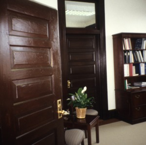 Interior view, Patterson Building, Maxton, Robeson County, North Carolina