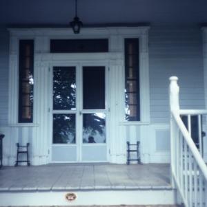 Entrance, Humphrey-Williams House, Robeson County, North Carolina