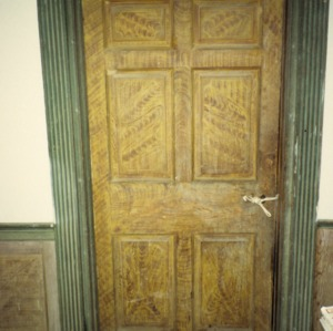 Doorway, Fewell-Reynolds House, Rockingham County, North Carolina