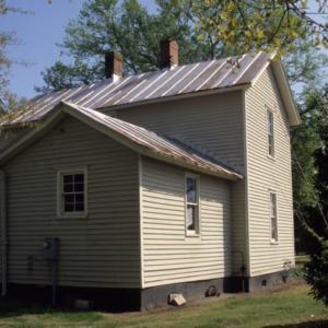 Front view, 409 Elliott Street, Edenton Cotton Mill Village, Edenton, Chowan County, North Carolina