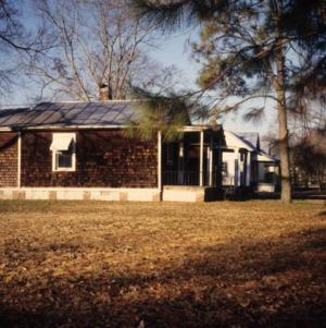 Side view, 412 Elliott Street, Edenton Cotton Mill Village, Edenton, Chowan County, North Carolina