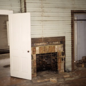 Interior view, 415 Elliott Street, Edenton Cotton Mill Village, Edenton, Chowan County, North Carolina