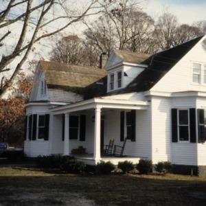 Side view, 400 King Street, Edenton Cotton Mill Village, Edenton, Chowan County, North Carolina