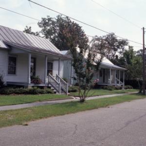 Front view, 405 Phillips Street, Edenton Cotton Mill Village, Edenton, Chowan County, North Carolina