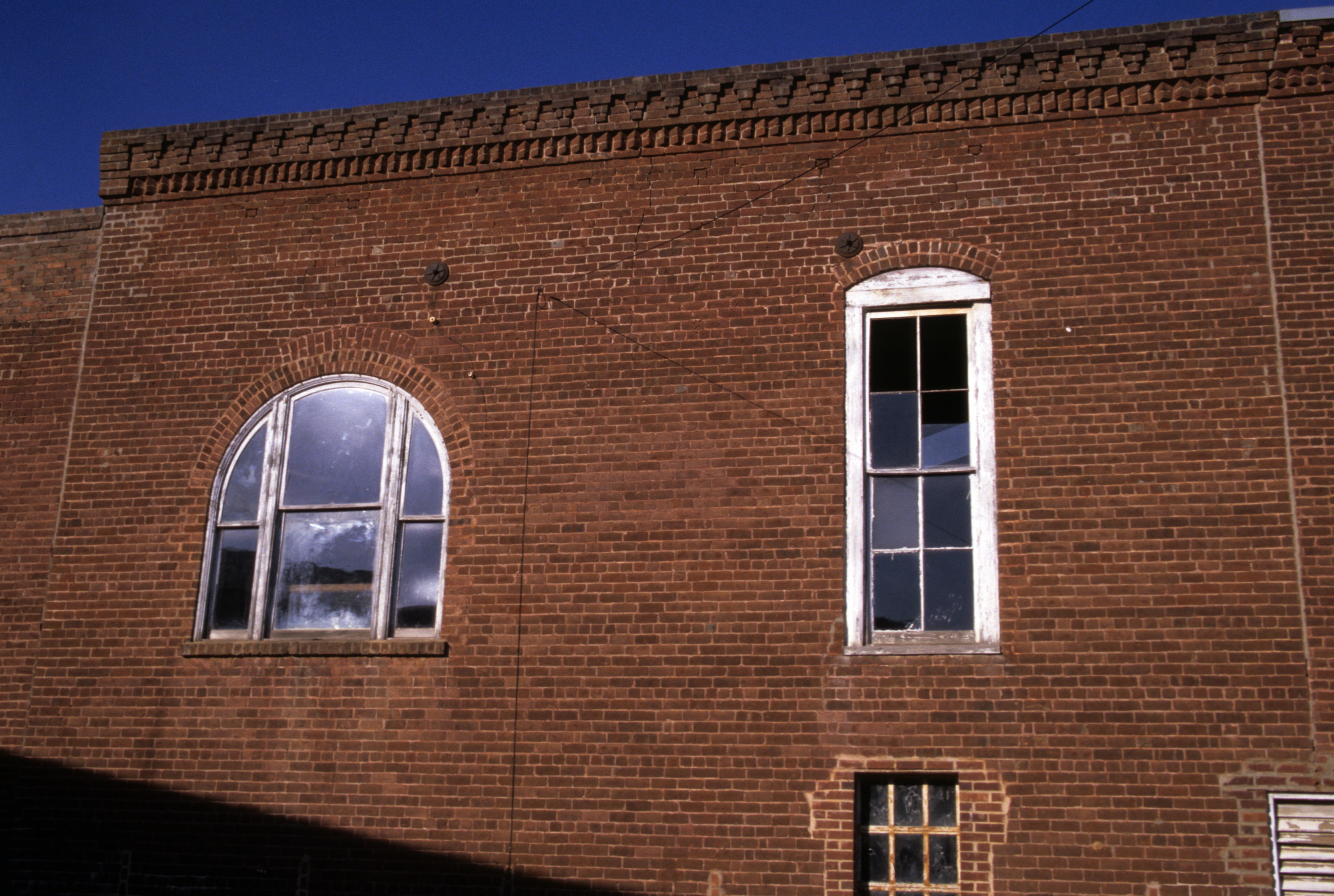 Windows, Company Store and Office, Glencoe Mill Village, Glencoealamance village