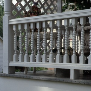 Baluster, Robert Holt House, Glencoe, Alamance County, North Carolina