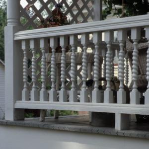 Baluster, Robert Holt House, Glencoe, Alamance County, North Carolina