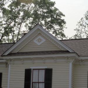 Exterior detail, Robert Holt House, Glencoe, Alamance County, North Carolina