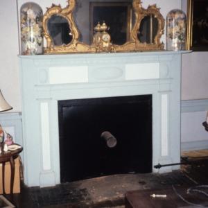 Fireplace, High Rock Plantation House, Rockingham County, North Carolina