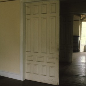 Interior view with door, Doctor Franklin King House, Eden, Rockingham County, North Carolina