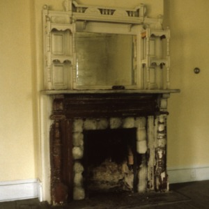 Fireplace, Doctor Franklin King House, Eden, Rockingham County, North Carolina