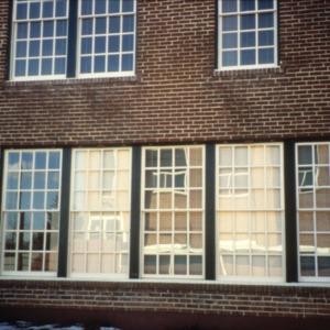 Window, Reidsville High School, Reidsville, Rockingham County, North Carolina