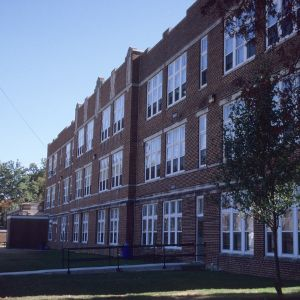 Partial view, Albemarle High School, Stanly County, North Carolina