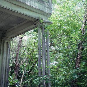 Exterior detail, Fleet Matthis Farm, Taylors Bridge, Sampson County, North Carolina