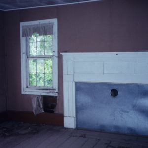 Interior view, Fleet Matthis Farm, Taylors Bridge, Sampson County, North Carolina