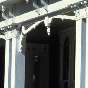 Exterior detail, Pool Rock, Vance County, North Carolina