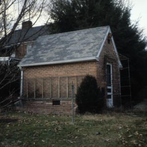 Outbuilding, Edward C. Ashby House, Mount Airy, Surry County, North Carolina