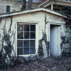 Outbuilding, James A. Hadley House, Mount Airy, Surry County, North Carolina