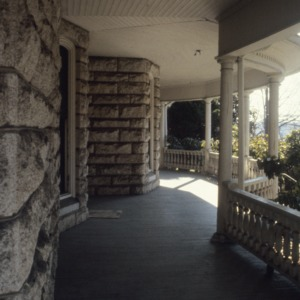 Porch, James A. Hadley House, Mount Airy, Surry County, North Carolina