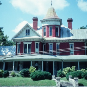 View, James A. Hadley House, Mount Airy, Surry County, North Carolina