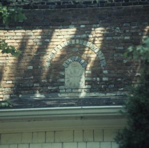 Exterior detail, John Stirewalt House, Rowan County, North Carolina