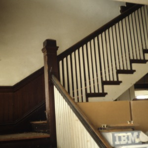 Stairs, William E. Breese Jr. House, Brevard, Transylvania County, North Carolina