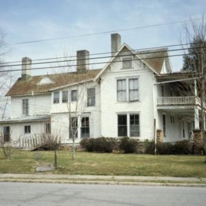 View, William E. Breese Jr. House, Brevard, Transylvania County, North Carolina