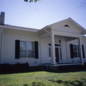 Front view, Estes-Spain House, Surry County, North Carolina