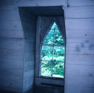 Window, Rucker-Eaves House, Rutherfordton, Rutherford County, North Carolina