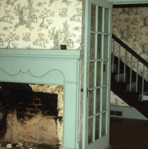 Interior view, Rucker-Eaves House, Rutherfordton, Rutherford County, North Carolina