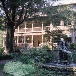 Front view, Esmeralda Inn, Chimney Rock, Rutherford County, North Carolina