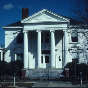 Front view, Goodwin House, Raleigh, Wake County, North Carolina
