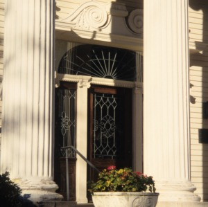 Entrance, Goodwin House, Raleigh, Wake County, North Carolina