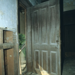 Door, Lane-Bennet House, Wake County, North Carolina