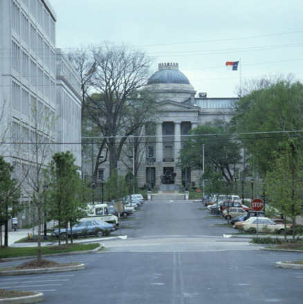 View, North Carolina State Capitol, Raleigh, Wake County, North Carolina