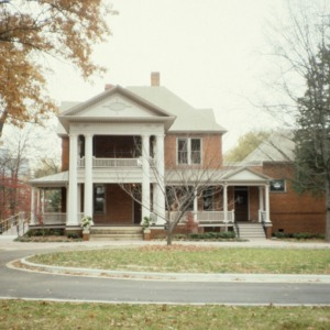 Front view, Bishop's House, Raleigh, Wake County, North Carolina