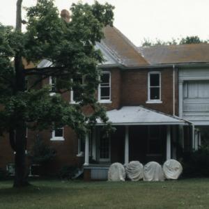 Side view, Bishop's House, Raleigh, Wake County, North Carolina