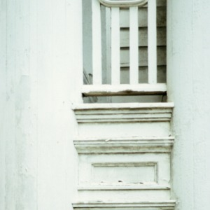 Porch detail, Bishop's House, Raleigh, Wake County, North Carolina