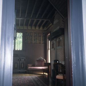 Interior view, Bishop's House, Raleigh, Wake County, North Carolina